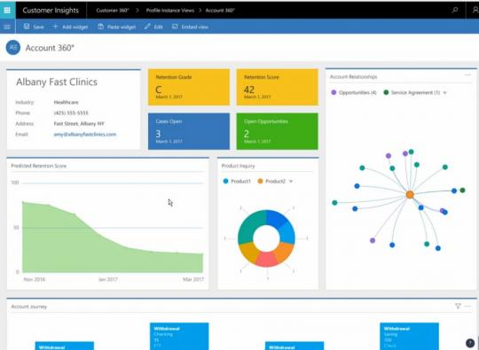 Dynamics 365 Customer Insights Account 360